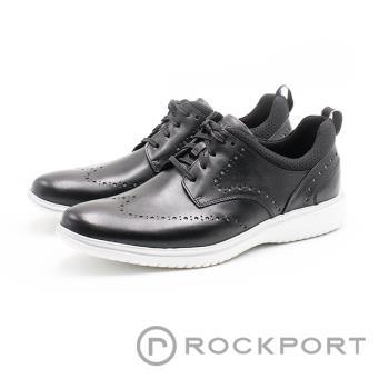 ROCKPORT馬拉松系列 運動型皮鞋 男-黑(另有咖)DRESSPORTS 2 FAST