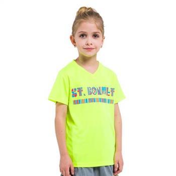 聖伯納 St.Bonalt 中童 圖騰速乾運動T恤