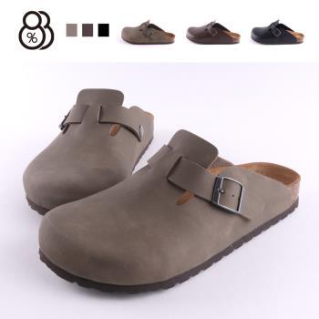 【88%】涼拖鞋-MIT台灣製 簡約舒適 純色百搭 圓頭包頭拖鞋 涼拖鞋 男款