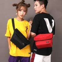 【Acorn*橡果】韓系休閒防水郵差包斜背包肩背包6567(黑色)