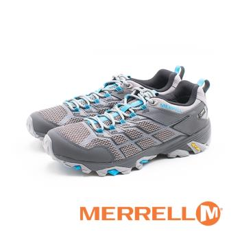 MERRELL (男)輕量Gore-Tex Vibram黃金大底 登山鞋/ 郊山鞋 -灰