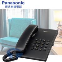 Panasonic 國際牌簡易型有線電話 KX-TS500 (經典黑)