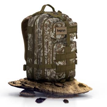 bagrun都會玩家軍事風格後背包 (40L)