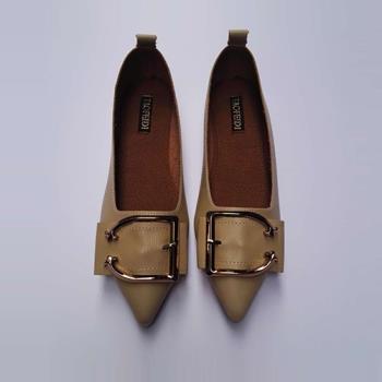 Alice (預購) 優雅俐落美感尖頭平底鞋