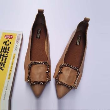 Alice (預購) 優雅玩美潮流尖頭平底鞋
