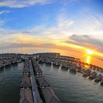旅展-馬來奢華小杜拜2晚黃金棕櫚樹海上渡假村5日旅遊