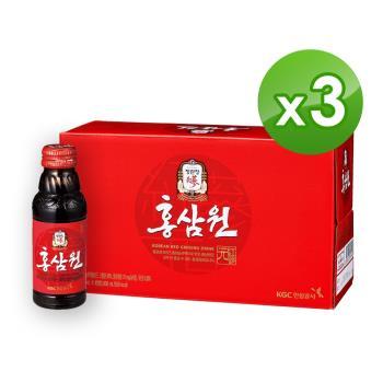 【正官庄】 高麗蔘元 (100mlx10瓶x3盒)