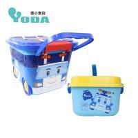YoDa 救援小英雄波力嚕嚕車收納箱+手提收納箱