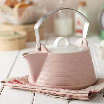 日本MIYAWO THERMATEC IH陶土茶壺 2L (兩色可選)