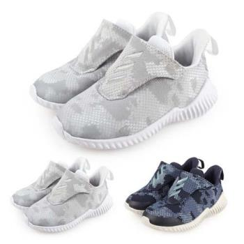 ADIDAS 男兒童慢跑鞋-路跑 童鞋 愛迪達