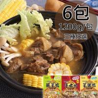 川奇食品自然鴨御膳食補三種任選6包1200g/包
