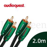 美國線聖 Audioquest Evergreen (RCA to RCA) 訊號線 2.0M/公司貨