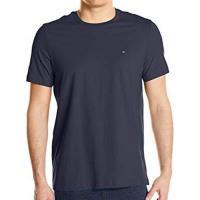 Tommy Hilfiger 2018男時尚標誌深藍色圓領短袖內衣