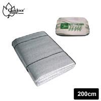 Outdoorbase 4人3mm雙面鋁箔防潮墊  帳蓬地墊  露營睡墊 車內隔熱 200x200cm-21522