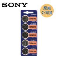 SONY  CR2016 鈕扣型電池 ( 5入/卡 )