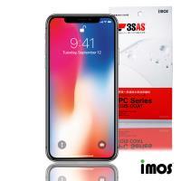 iMos 3SAS iPhone Xs Max 6.5吋 (非滿版)超抗潑水疏油效果保護貼