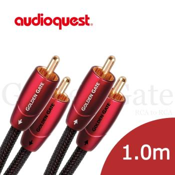 美國線聖 Audioquest Golden Gate (RCA to RCA) 訊號線 1.0M/公司貨