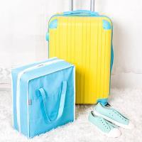 E.City 旅行多功能手提立體分隔防塵收納鞋袋