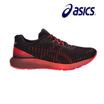 【asics 亞瑟士】DYNAFLYTE 3 男慢跑鞋 黑紅(1011A002-002)