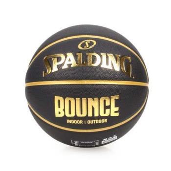 SPALDING BOUNCE 籃球-PU-7號球 附網袋 附球針 斯伯丁