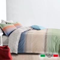 Raphael拉斐爾 樂章 純棉加大四件式床包兩用被套組