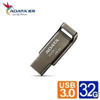 威剛 UV131 32G  USB3.1賽車行動碟 (鉻灰色)