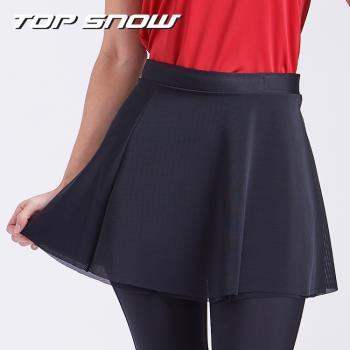 【美國TOP SNOW】網紗裙襬百搭大A襯裙1入(腰圍可調)