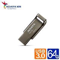 威剛 UV131 64G  USB3.1賽車行動碟 (鉻灰色)