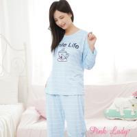 PINK LADY 微笑咖啡棉柔成套睡衣 (2715)