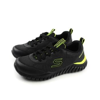 SKECHERS  運動鞋 童鞋 黑色  97661LBCCL no777