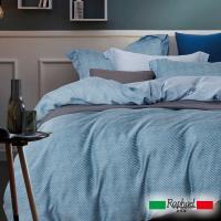 Raphael拉斐爾 藍調 天絲雙人四件式床包兩用被套組
