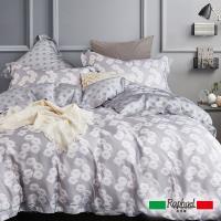 Raphael拉斐爾 蔓舞 天絲特大四件式床包兩用被套組