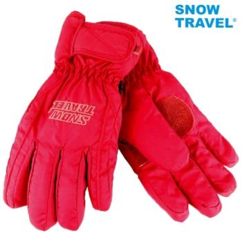 [SNOW TRAVEL]AR-ONE英國TPU防水套+白鵝羽絨700fill防水保暖滑雪手套/紅/M號/日本輕井澤2016年滑雪紀念版/攻頂/海釣