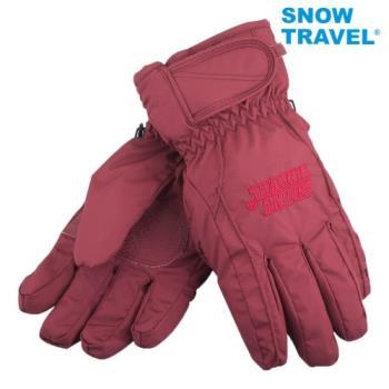 [SNOW TRAVEL]AR-ONE英國TPU防水套+白鵝羽絨700fill防水保暖滑雪手套/酒/M號/日本輕井澤2016年滑雪紀念版/攻頂/海釣
