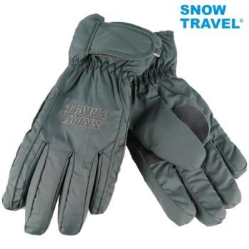 [SNOW TRAVEL]AR-ONE英國TPU防水套+白鵝羽絨700fill防水保暖滑雪手套/灰/L號/日本輕井澤2016年滑雪紀念版/攻頂/海釣