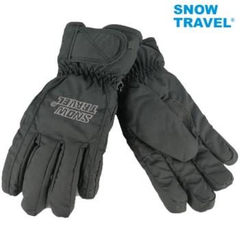 [SNOW TRAVEL]AR-ONE英國TPU防水套+白鵝羽絨700fill防水保暖滑雪手套/黑/M/日本輕井澤2016年滑雪紀念版/攻頂/海釣