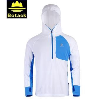 布特Botack喜樹男式防曬立領釣魚服,LMT3-7116