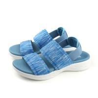 SKECHERS ON-THE-GO 600 涼鞋 女鞋 水藍色 15309BLU no845