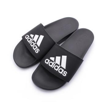 ADIDAS ADILETTE COMFORT 套式拖鞋 黑白 CG3425 男鞋 鞋全家福
