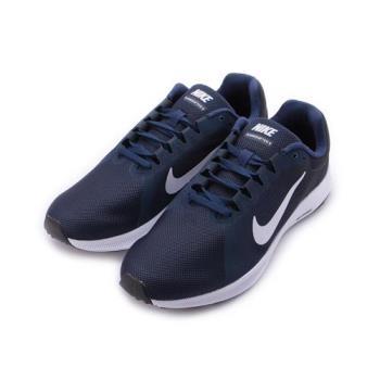 NIKE DOWNSHIFTER 8 輕量跑鞋 藍白黑 908984-400 男鞋 鞋全家福
