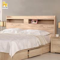 ASSARI 直人插座床頭片(雙大6尺)