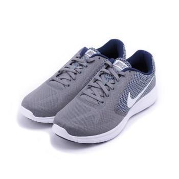 NIKE REVOLUTION 3 休閒跑鞋 灰藍白 819300-019 男鞋 鞋全家福