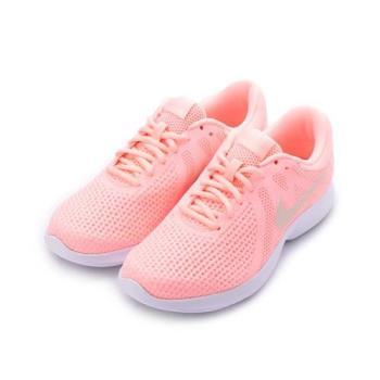 NIKE WMNS REVOLUTION 4 RUNNING 輕量避震跑鞋 石榴粉 908999-602 女鞋 鞋全家福