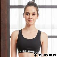 PLAYBOY 性感包覆網紗瑜珈內衣(PL6118001)