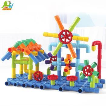 Playful Toys 頑玩具 水管積木 8060(水管積木 兒童積木 趣味積木 益智積木)