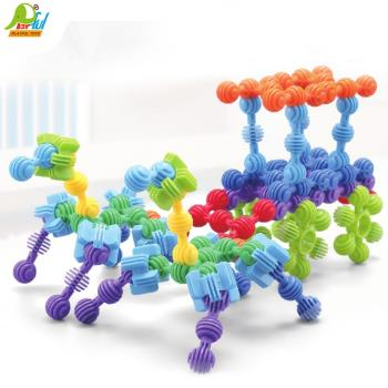 Playful Toys 頑玩具 魔力豆積木 8130(魔力豆積木 益智玩具 兒童學習積木 玩具積木 兒童玩具)