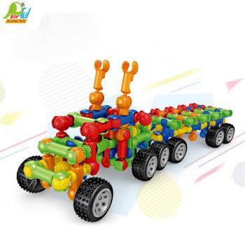 Playful Toys 頑玩具 骨架積木8001-1(骨架積木 益智玩具 兒童學習積木 玩具積木 兒童玩具)