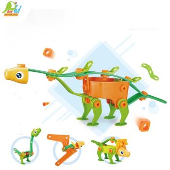 Playful Toys 頑玩具 軟膠積木6118( 軟膠積木 軟膠條積木 DIY積木 益智積木 趣味積木 兒童積木 軟積木 創意積木)