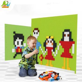 Playful Toys 頑玩具 積木牆 內有附積木6321(積木牆 牆面積木底板 超大積木底板 兒童學習)