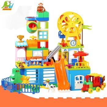 Playful Toys 頑玩具 夢幻歡樂谷積木1053(夢幻歡樂谷積木 兒童積木 大型組合積木 幼兒玩具 )